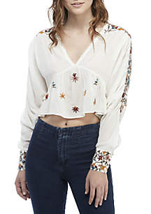 Ava Embroidered Blouse