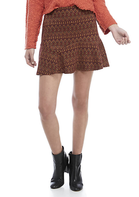 Free People When in Rome Mini Skirt