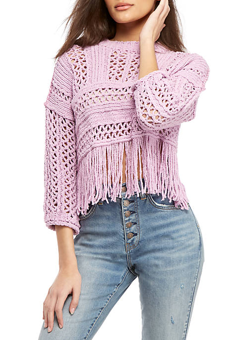 Free People Higher Love Pullover Sweater