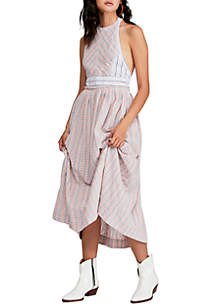 Free People Color Theory Midi Dress