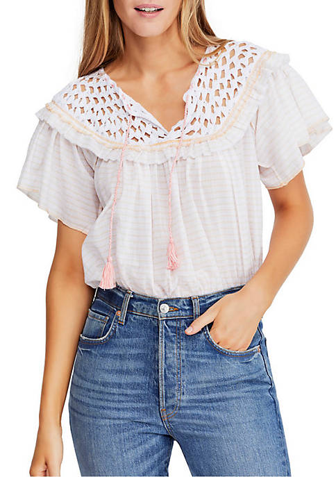 Free People Allora Blouse