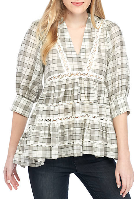 Time Out Lace Tunic
