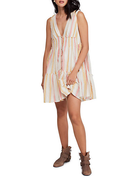 Free People Do It Again Mini Dress