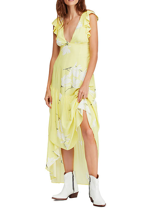 Free People Shes A Waterfall Maxi Dress