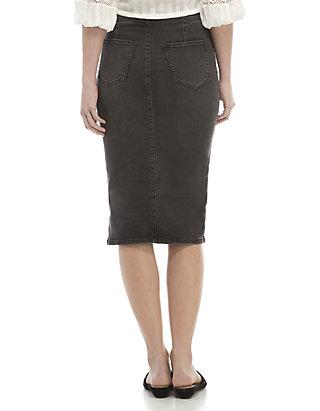 fb36fb7d6571 Free People Maddie Denim Midi Skirt Free People Maddie Denim Midi Skirt