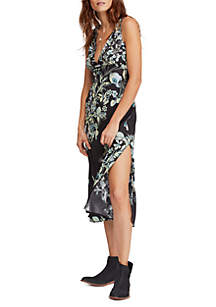 Free People Never Too Late Maxi Slip Dress