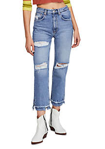 Free People Lita Slim Leg Jeans