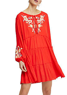 cebb230d65f ... Free People Spell On You Embroidered Mini Dress