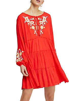 45afae32cd Free People Spell On You Embroidered Mini Dress ...