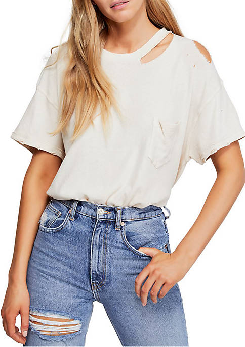 Free People Lucky T Shirt
