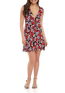 Free People Key to Your Heart Mini Dress