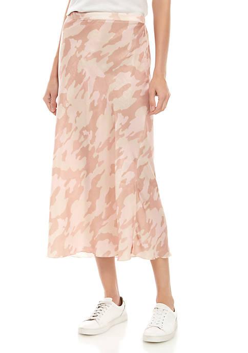 Kendall Camo Midi Skirt