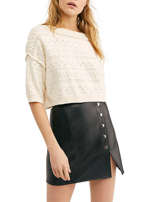 Free People Sand Castle Sweater