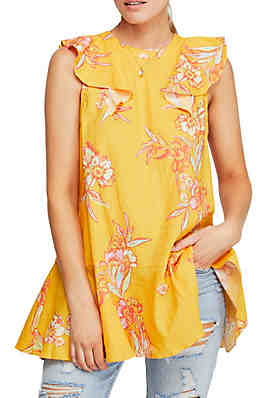 c99a799a45b Free People Summer in Tulum Printed Top ...