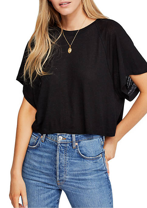 Free People Weekend T Shirt