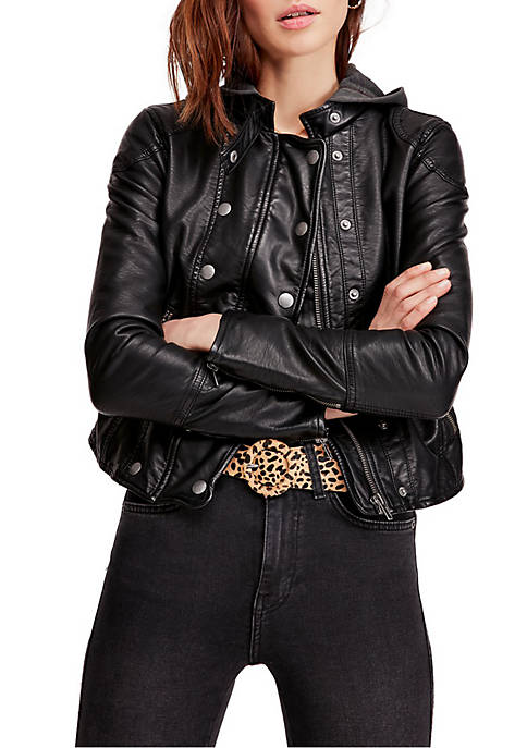 New Dawn Vegan Leather Jacket