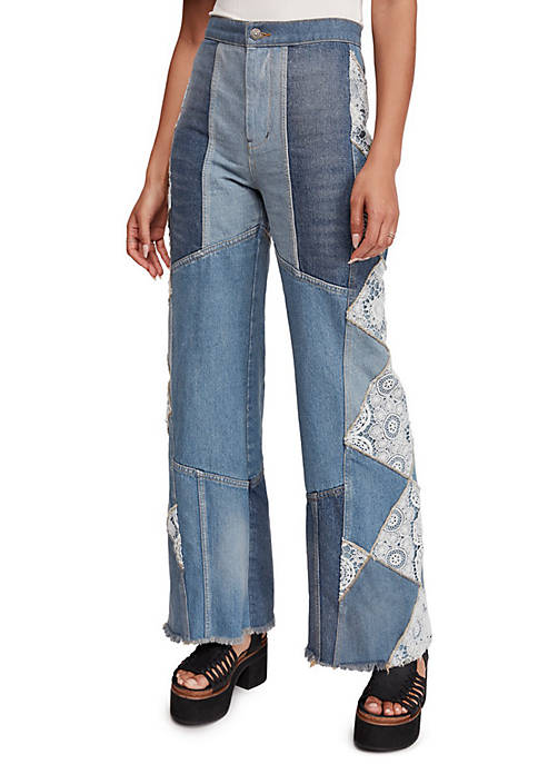 Free People In My Element Flared Jeans
