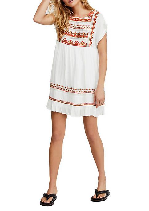 Free People Sunrise Wandered Mini Dress