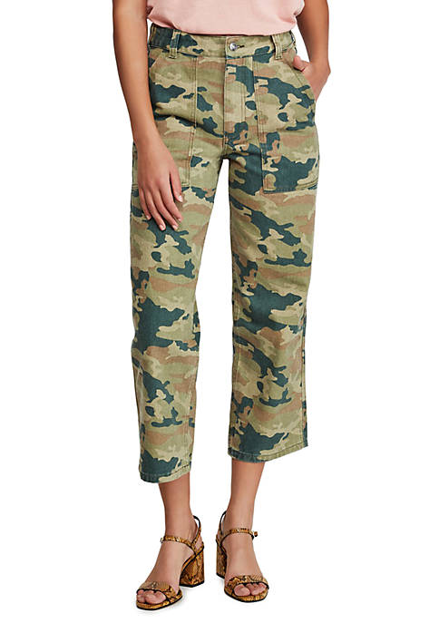 Free People Remy Camo Pants