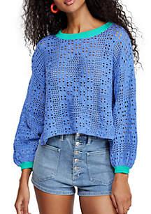 Free People Home Run Sweater
