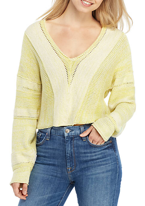 Free People Lemonade Stand Sweater