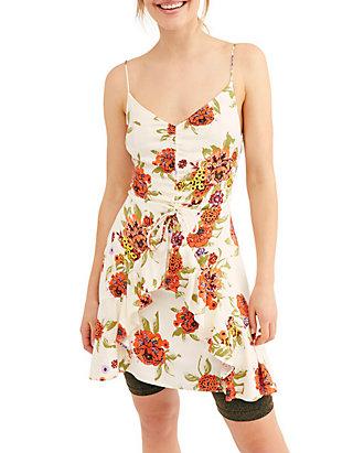 Bonnie Jean Girls 7-16 Sundress Boho Sunflower Dress