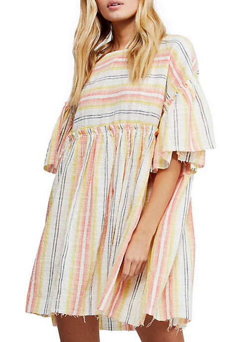 Free People Summer Nights Striped Top