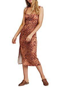 Free People Show Stopper Midi Dress