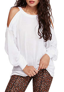 dbd7b419 New Directions® Sleeveless Tie Dye Henley Top · Free People Chill Out Long Sleeve  Top
