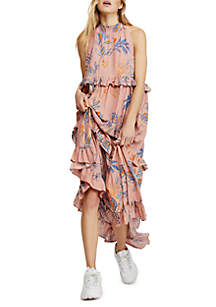 5628e0ae23 ... Free People Anita Printed Maxi Dress
