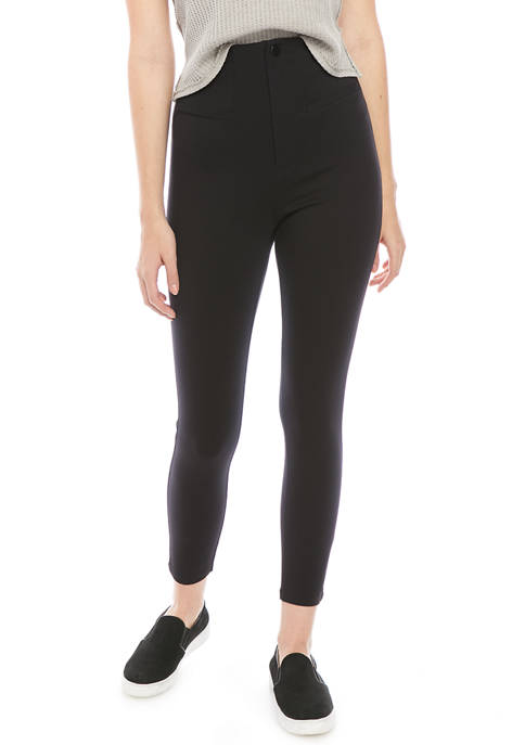 Free People Elena High Rise Skinny Pants