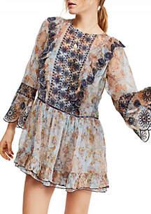 Free People Country Roads Mini Dress