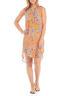 Fever Floral Eclipse Print Dress