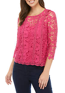 Fever Crochet Lace Top