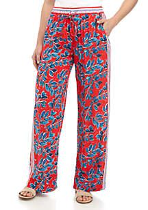 Fever Wide Leg Print Pants