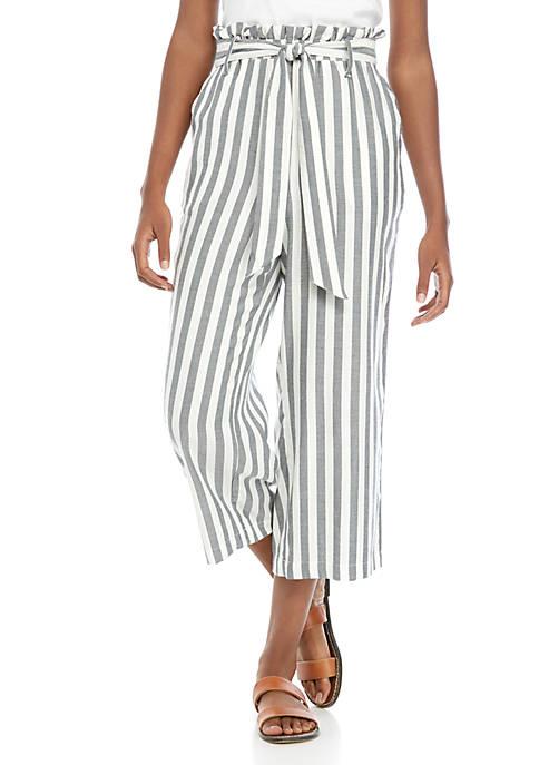 Fever Stripe Linen Pants
