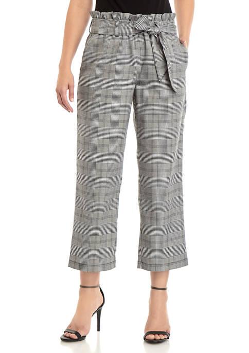 Fever Womens Paper Bag Waist Pants