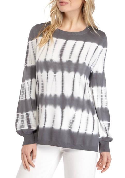 Fever Womens Tie Dye Sweater