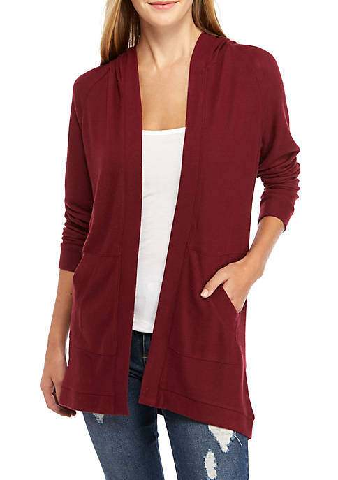 Belle du Jour Juniors Long Sleeve Hacci Duster