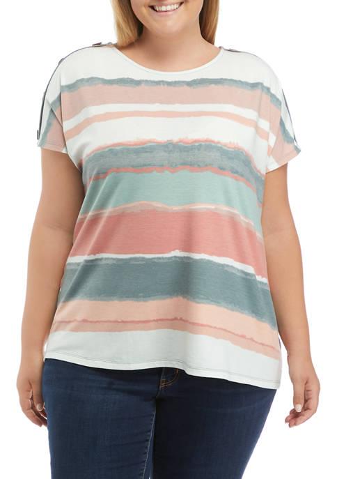 Belle du Jour Plus Size Dolman Sleeve T-Shirt
