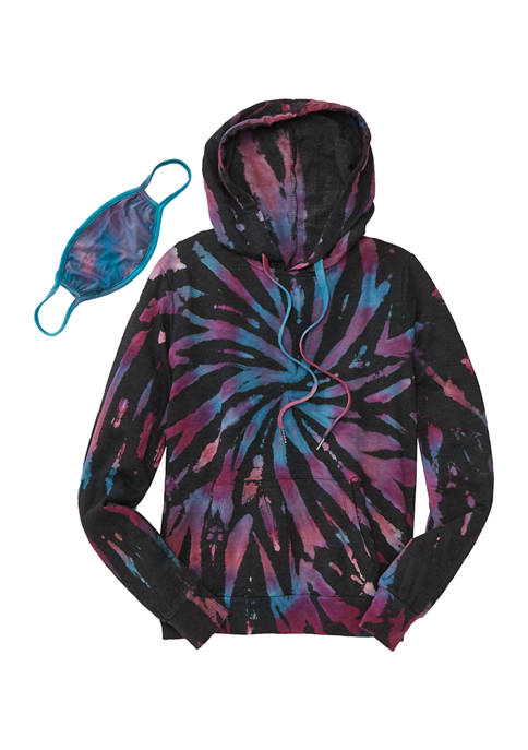 Belle du Jour Juniors Long Sleeve Tie Dye