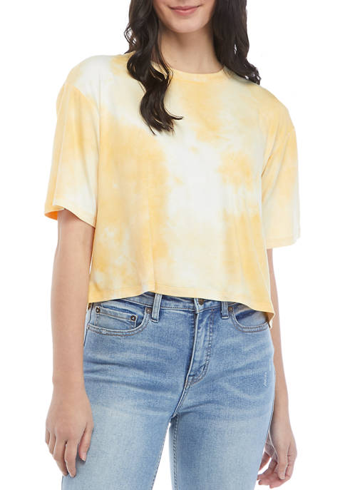 Belle du Jour Juniors Short Sleeve Tie Dye