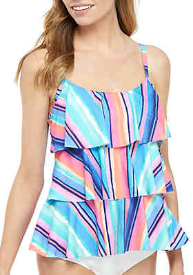 a97b9ab072 Beach House Jane Ruffle Swim Tankini Top ...