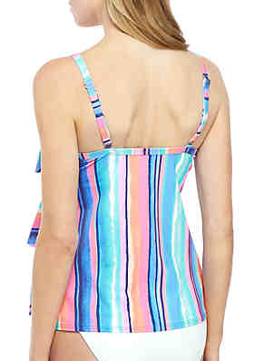 aa111c236f ... Beach House Jane Ruffle Swim Tankini Top
