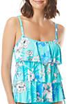 Jane Ruffle Tankini Swim Top