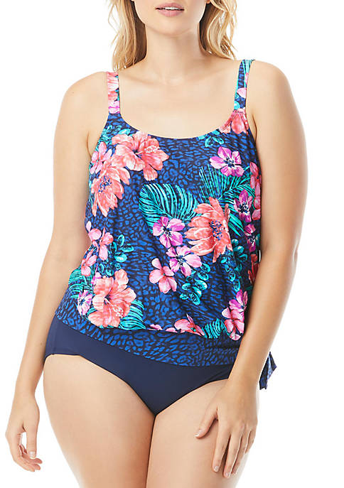 Beach House Plus Size Off Tropic Sarah Side