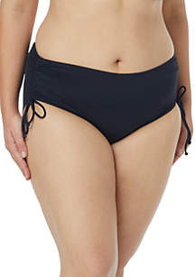 Plus Size Swim Adjustable Side Bottom