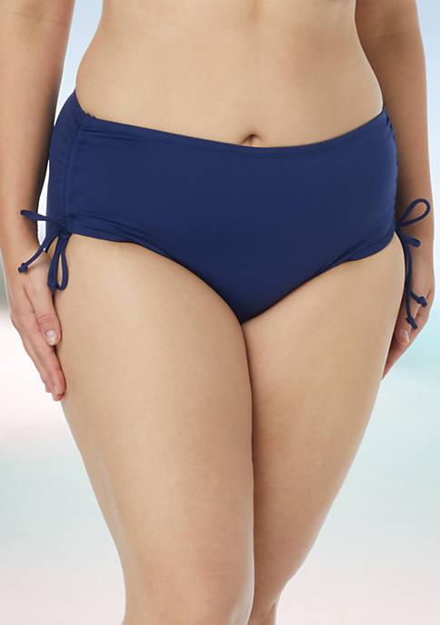 Beach House Plus Size Swim Adjustable Side Bottom