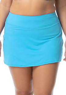 4352e6c816 ... Beach House Plus Size Emma Swim Skort