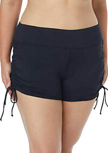 Plus Size Blake Adjustable Swim Shorts